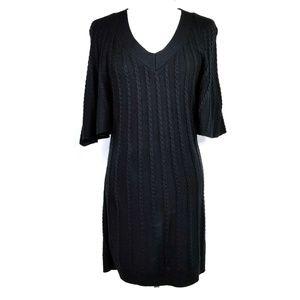 Calvin Klein Ribbed Sweater Dress  VGC